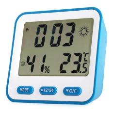 BK-854 Multifungsi Elektronik Digital Thermometer Hygrometer Alarm Clock-Intl