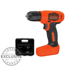Tips Beli Black Decker Bdcd8K B1 Cordless Drill Kit Set Mesin Bor Obeng Elektrik 7 2V