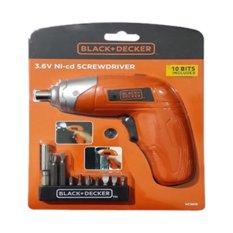Spesifikasi Black Decker Kc3610 B101 Obeng Elektrik