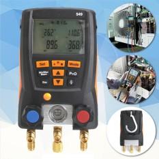 Beli Hitam Refrigeration 549 Digital Manifold Hvac Sistem Pengukur Kit Meter 0560 0550 Intl Not Specified Online