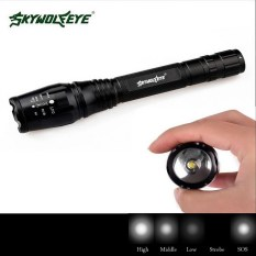 Beli Hitam Zoomable 4000 Lumen 5 Mode Xml T6 Led Obor Cahaya Lampu 18650 Charger Oem Murah