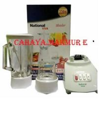 blender nasional 2in1 kaca - Prima Mart