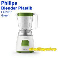 Blender Plastik - PHILIPS HR 2057 GARANSI RESMI HIJAU