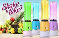 Blender Portable Shake and n take   GENERASI 3   Simple Juice jus buah   dapat 2 gelas