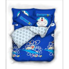 Beli Bloomingdale Doraemon Timomachine Set Bed Cover Dan Sprei 100 Cotton Terbaru