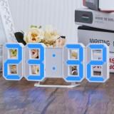 Beli Biru Led Nomor Digital Jam Dinding Dengan 3 Tingkat Kecerahan Alarm Tunda Clock Intl Not Specified Dengan Harga Terjangkau