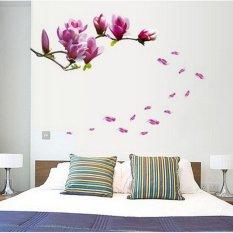 Dimana Beli Blumen Magnolie Bunga Stiker Dinding Kamar Tidur Dekorasi Rumah Pasang Sendiri Segar Indah Oem
