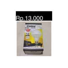 BOHLAM LED LAMPU 12WATT MURMER E27 PIOLINE SOROT HALOGEN