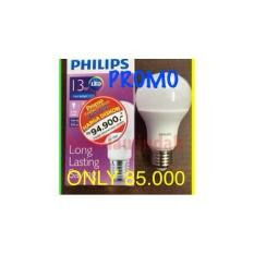BOHLAM LED PHILIP 13WATT BULB LAMPU FITTING E27 WHITE WARM WHITE PROMO