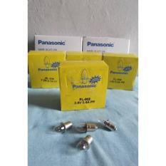 Bohlam Senter Panasonic Original Clear/Bening Pasti Lebih Terang