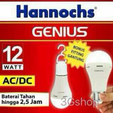 Promo Bola Lampu Led Ac Dc 12W Genius Hannochs Hannochs Terbaru