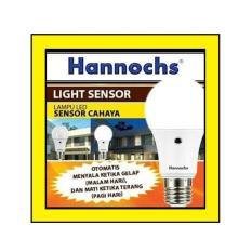 Harga Bola Lampu Led Hannochs Light Sensor 9 Watt Cahaya Lampu On Off Otomatis Asli Hannochs