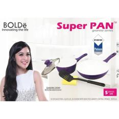 Harga Bolde Super Pan Set 5 Pcs Purple Granite Baru