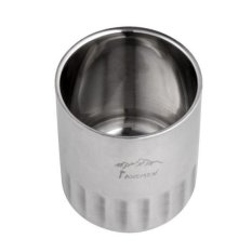 Diskon Bolehdeals 120 Ml Double Wall Stainless Steel Terisolasi Minum Kopi Cangkir Mug Perjalanan Intl Branded