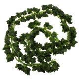 Beli Bolehdeals 12 Buah Wall Hanging Buatan Dedaunan Tanaman Ivy Merambat Dekorasi Daun Ubi Pake Kartu Kredit