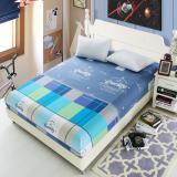 Review Toko Bolehdeals 150X200Cm Bed Sheet Fitted Bedspread Mattress Bedding Cloth Cover Quilt 8 Intl