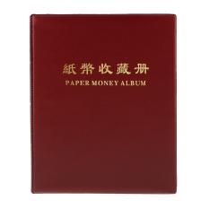 Jual Bolehdeals Kaos Berwarna Uang Kertas Mata Uang Koleksi Uang Kertas Buku Album Merah Gelap C Lengkap