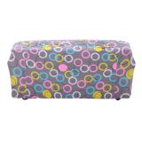 Toko Jual Bolehdeals 3 Kursi Penutup Sofa Spandeks Elastis Sofa Kursi Sarung Cincin Cetak Kotak Dekorasi