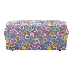 Beli Bolehdeals 3 Kursi Penutup Sofa Spandeks Elastis Sofa Kursi Sarung Cincin Cetak Kotak Dekorasi Kredit