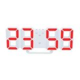 Spesifikasi Bolehdeals 3D Digital Led Table Wall Clock 24 12 Jam Tampilan Usb Alarm Tunda Orange Intl Dan Harganya