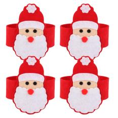 ... Tissue Box Cover Paper Napkin Holder Snowman. IDR 41,000 IDR41000. View Detail. BolehDeals 4 buah Natal Sinterklas cincin serbet makan dudukan dekorasi ...
