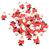 Review Bolehdeals 50 Buah Kayu Dekorasi Natal Sinterklas Pohon Natal Hadiah Yang Digantung Tiongkok