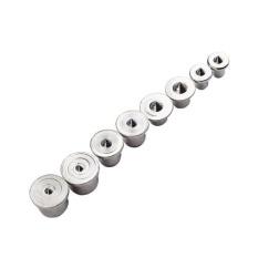 Diskon Besarbolehdeals 8 Piece Paku Dinding Bor Centre Poin Pin Kayu 6 8 10 13Mm Dowel Tenon Pusat Set Intl