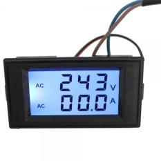Ulasan Lengkap Bolehdeals Ac 80 45 300 V 100 Amp Digital Lcd Amper Voltase Meteran Pengukur Amper Pengukur Tegangan Volt 45 Hitam 45 Internasional