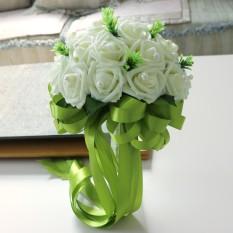 BolehDeals 50 Pcs Buatan Busa Rose Kepala Bunga Bridal Buket Pesta Dekorasi  Rumah Merah-InternasionalIDR130000. Rp 190.000 2debc45c46