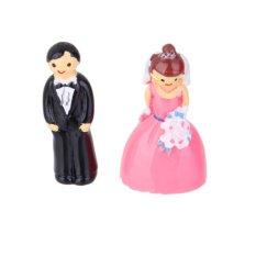 BolehDeals Miniatur mikro Taman Peri Taman Pemandangan Rumah Boneka Dekorasi pernikahan
