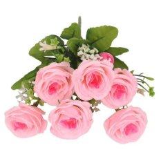 Rp 56.000 BolehDeals Bunga Palsu Buatan Rose Sutra Floral Decor Bouquet  untuk Rumah Berwarna Merah Muda-InternasionalIDR56000. Rp 58.000 BolehDeals  2x ... 78f9f73b3e