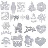 Beli Bolehdeals Metal Cutting Dies Stencil Diy Scrapbooking Embossing Card Hobbyhorse Intl Tiongkok