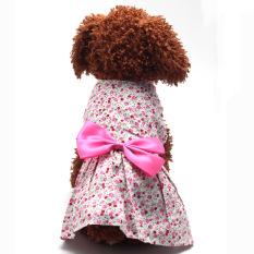 Beli Bolehdeals Rok Gaun Pakaian Baju Kostum Princess For Anjing Peliharaan Kucing Berwarna Merah Muda L 45 Internasional Di Tiongkok