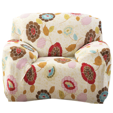 BolehDeals Single Sofa Kursi Sarung Karet Penutup Dicuci SlipCover10 & #45; Internasional