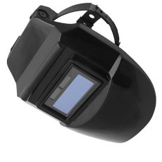 BolehDeals Solar Auto Menjadi Gelap Welding Helmet Arc TIG MiG Masker Mengelas Welder Topeng Hitam-