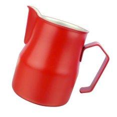 Ulasan Lengkap Bolehdeals Tebal Baja Tahan Karat Teko Kopi Buih Susu Latte 700 Ml Merah Intl