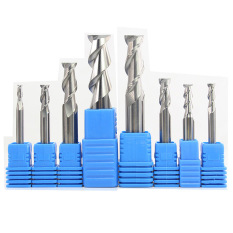 Harga Bolehdeals Xl550 Tungsten Steel Aluminium Router Cutter Bits Tools Endmills Drill 12Mm Tiongkok