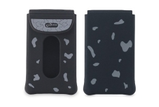 Bone Card Case Black