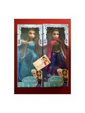 Boneka Frozen Set Anna dan Elsa Tinggi 30cm (sudah dengan baju)