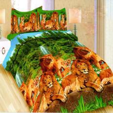 Jual Beli Bonita Sprei King 180X200 Cm Motif Lion Family Indonesia