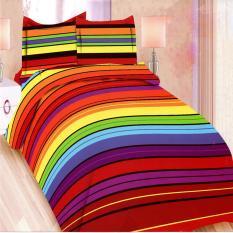 Toko Bonita Sprei King 180X200 Cm Motif Rainbow Termurah Di Dki Jakarta