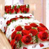 Toko Bonita Sprei King 3D Motif Royal Rose 180X200 Cm Indonesia