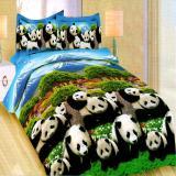 Jual Bonita Sprei Queen 3D Motif Japan Panda 160X200 Cm Online Indonesia