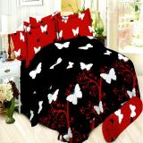 Review Bonita Sprei Queen Motif Butterfly 160X200 Cm Indonesia