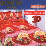 Harga Bonita Sprei Set Royal Princess Bonita Baru