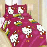 Toko Bonita Sprei Single 120X200 Cm Motif Hello Kitty And Keroppi Dekat Sini