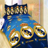 Cuci Gudang Bonita Sprei Single 120X200 Cm Motif R Madrid