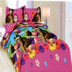 Bonita Sprei Single 3D Motif Masha 120X200 Cm Indonesia Diskon 50