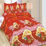 Beli Bonita Sprei Single 3D Motif Royal Princess 120X200 Cm Dengan Kartu Kredit