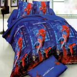 Tips Beli Bonita Sprei Single 3D Motif Spiderman 120X200 Cm Yang Bagus